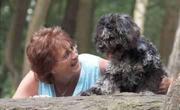 Foto Janet Reuvekamp en hond