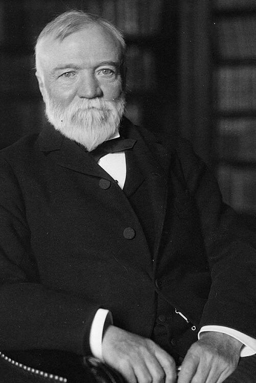 Foto Andrew Carnegie
