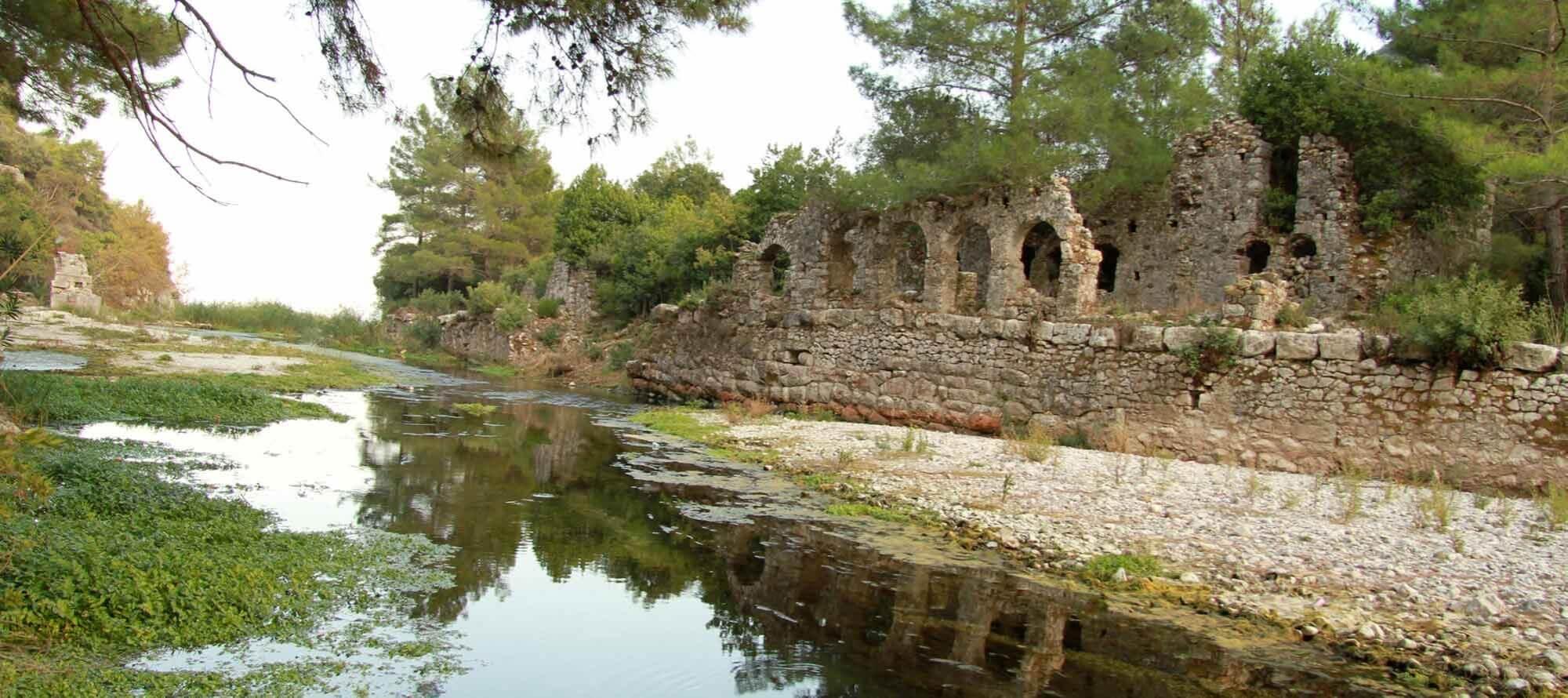 Ruïnes van Olympos