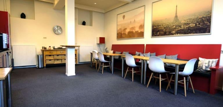 Foto van de Lounge in het Atma-gebouw