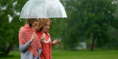 Wandelcoaching in de regen