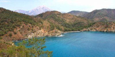 Maden beach bij Cirali