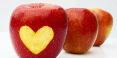 Appels met hart