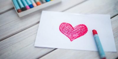 Kindertekening Hart